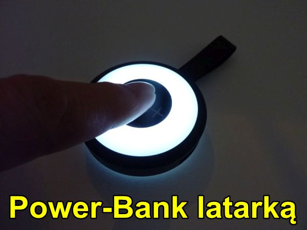 Powerbank latarka do toreb damskich