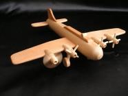 Wojskowy samolot B17, zabawka
