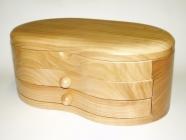 Skrzynka z drewna na biżuterię Ruda Śląska