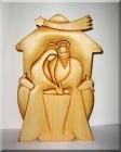 Rzeźba z drewna Betlejem