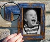 10x15 ramki retro na zdjęcia, niebieski