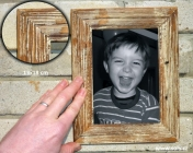 13x18 drewniana ramka na zdjęcia, biały