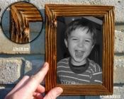 13x18 ramki retro na zdjęcia, naturalne