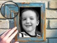 18x24 cm drewniane retro Fotorama