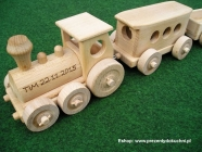 Kolejki drewniane zabawki