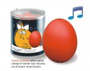 BeepEgg Classic czerwony. Gotuje jajo na miękko, jajo na półtwardo i jajo na twardo.