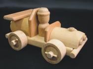 Drewniany samochodzik wyścigowy