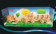 Autko i Tir ciężarówka, zabawki z drewna