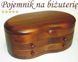 Pojemniki na Biżuterię drewniane