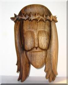 Rzeźba drewniana - statua Jezusa Chrystusa