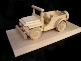 Jeep amerykański samochód wojskowy, prezent