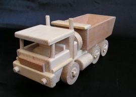 Ciężarówka zabawka drewniana Polska