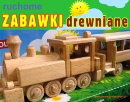 Lokomotywa z wagonami dla pasażerów