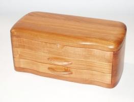 Skrzynka z drewna na biżuterię Rybnik
