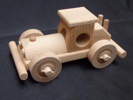 Drewniana zabawka samochód Bugy