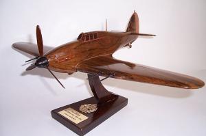 Hawker Hurricane Mk IIC brytyjski samolot myśliwski - model