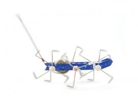 Modliszka - metaliczna zabawka mechaniczna