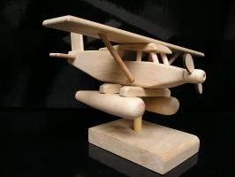 Prezent hydroplan samolotowy, wodnosamolot