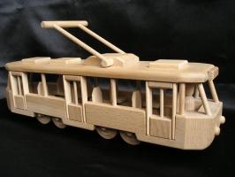 Nowoczesny tramwaj TATRA T, zabawka