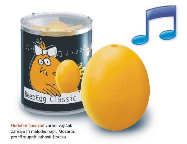 BeepEgg Classic jajko - czasomierz w rytmie Waszej ulubionej muzyki