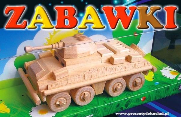 Transporter wojskowy z drewna - PUMA, DE