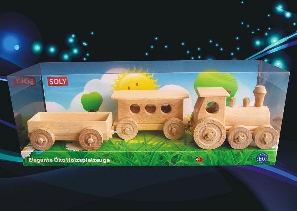 Pociąg zabawka pasażerske