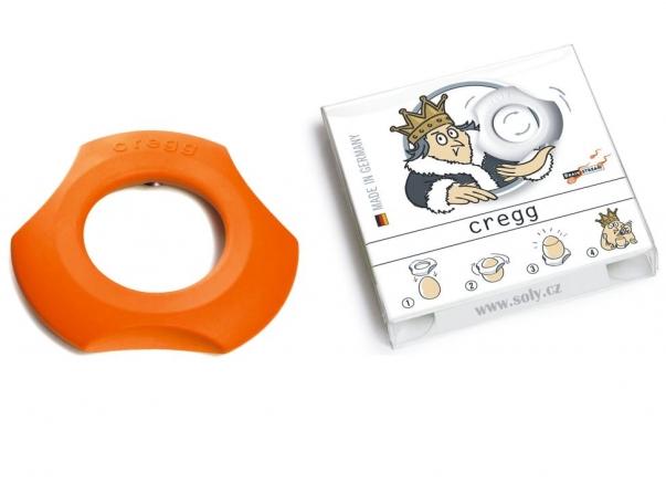 Cregg - pomarańczowy sposób jak dopilnować czasu gotowanych jajek