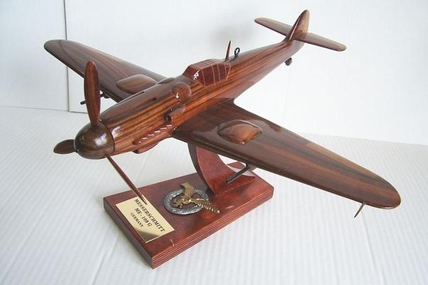 Messerschmitt ME 109 G model samolotu
