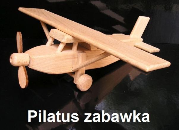 Samolot zabawka Pilatus
