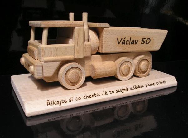 Prezent dla mężczyzny, urodziny ciężarówki