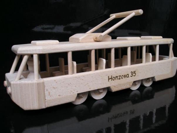 Prezent tramwaj, zabawka