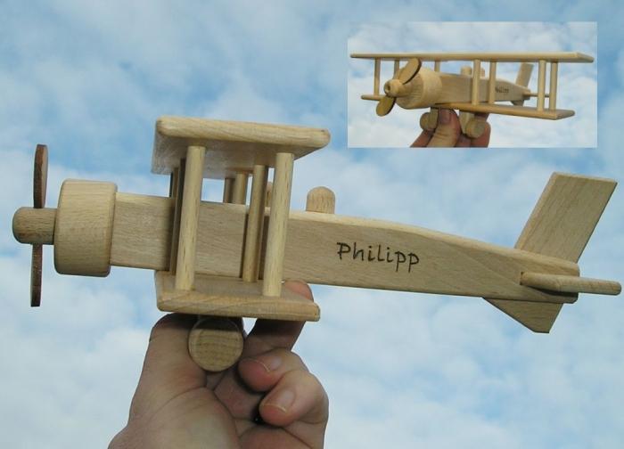 Samoloty z drewnia