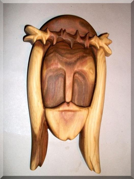 Jezus Chrystus statua, rzeźba drewniana