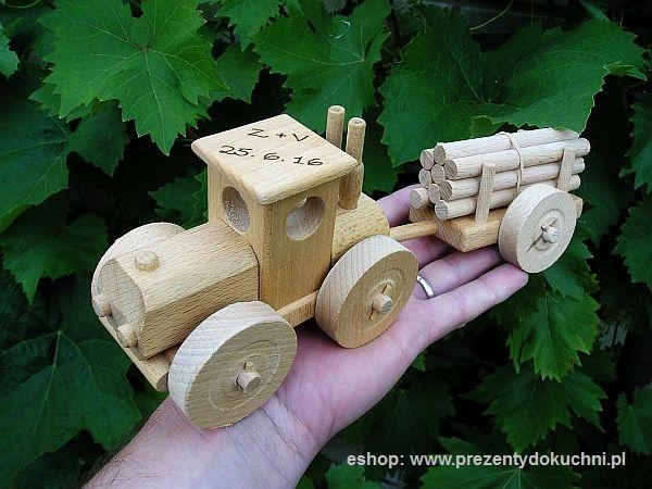 Traktory zabawki