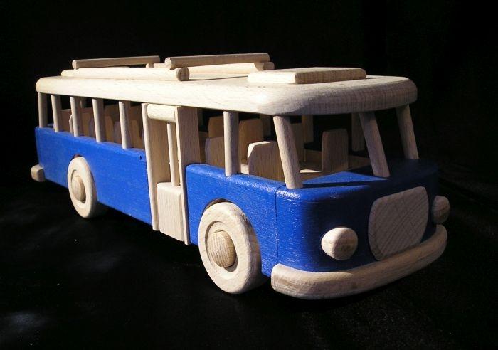 Autobus niebieski