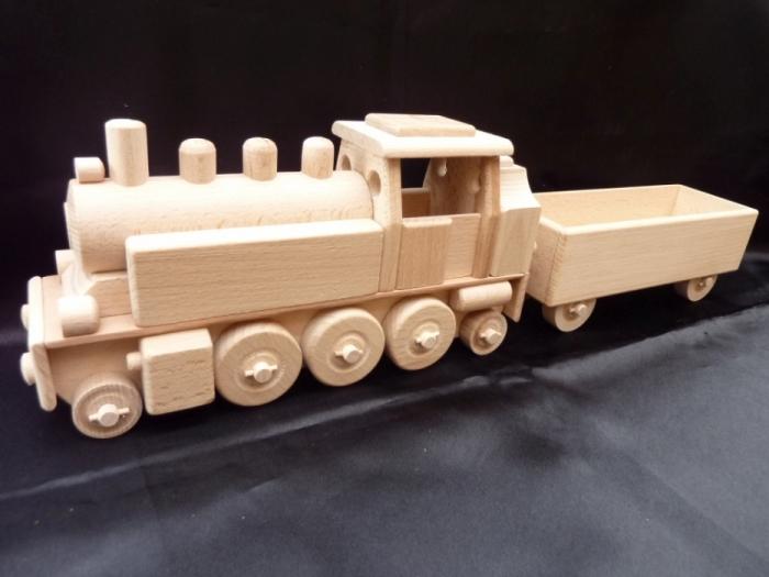 lokomotywa parowa, zabawki