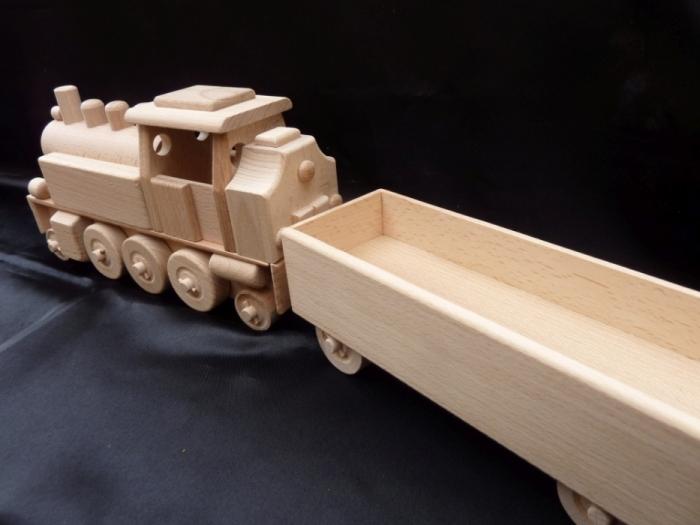 zabawki,  lokomotywa parowa