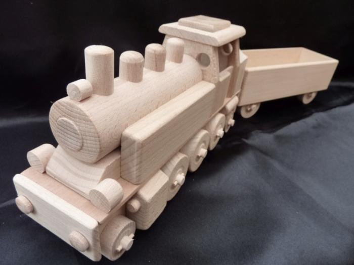zabawki,  lokomotywa parowa SKLEP