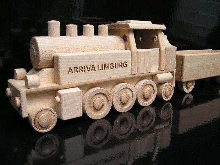 zabawki, lokomotywa parowa dla kierowca