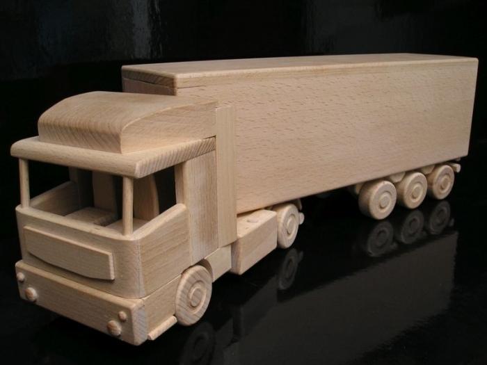 Ciężarówka autostrada prezent