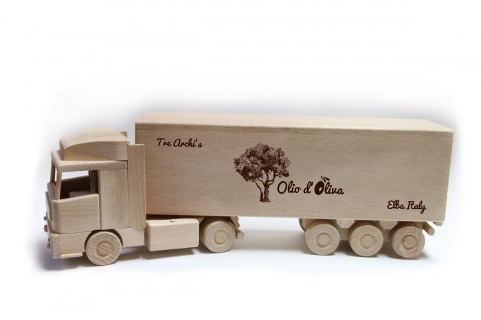 Ciężarówka truck prezent