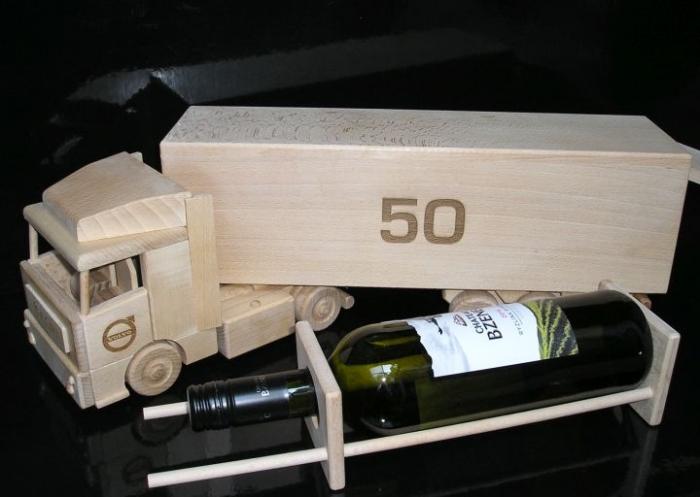 Ciężarówka autostrada prezent dla kierowców, zabawka