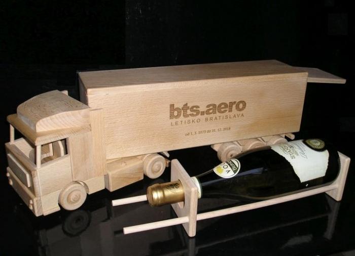 Ciężarówka autostrada prezent dla kierowca