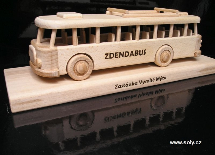 Prezent, auto bus na 40, 50, 60 urodzin dla mężczyzn