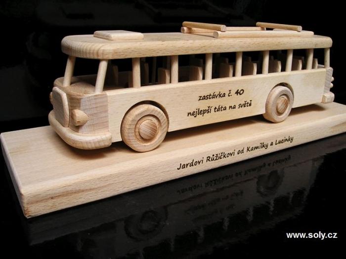 Prezent, autobus na 40, 50, 60 urodziny dla mężczyzny