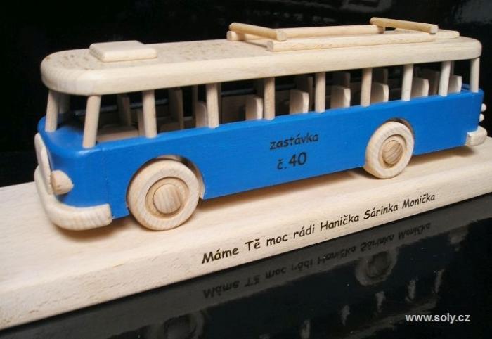 Prezent, autobus na 40, 50, 60 urodzin dla mężczyzny