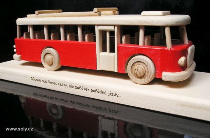 Prezent, autobus na 40, 50, 60 urodzin dla mężczyzn