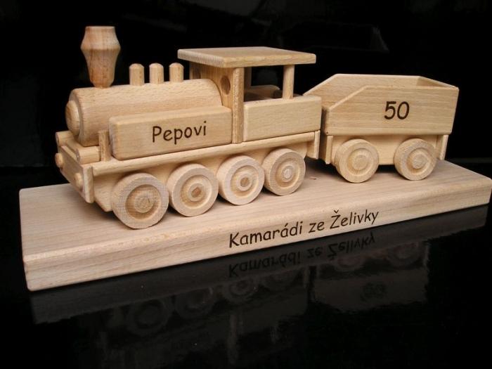 Prezent, lokomotywa, urodziny dla mężczyzn