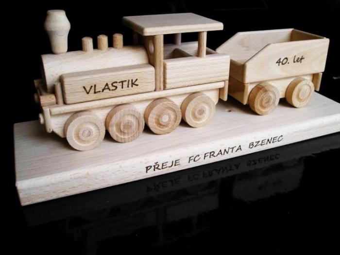 Prezent, lokomotywy, urodziny dla mężczyzny