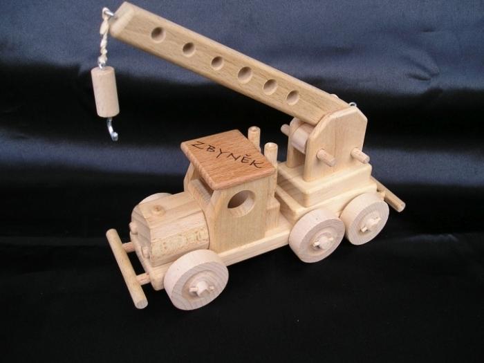 Dźwig zabawki